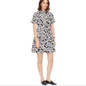 KATE SPADE NEWYORK HOLLYHOCK STRECH COTTON DRESS 4
